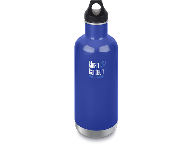 Klean Kanteen Classic Vacuum Insulated Bottle Loop Cap 946ml coastal waters